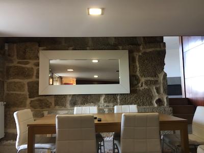Casa da Serra mesa sala